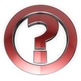 вопрос о иконы Стоковое Изображение RF