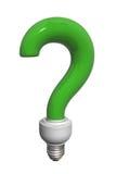 вопрос о шарика зеленый иллюстрация вектора