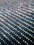 Вопрос ткани джинсовой ткани Стоковое Фото