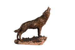 Вопль волка Стоковые Фото