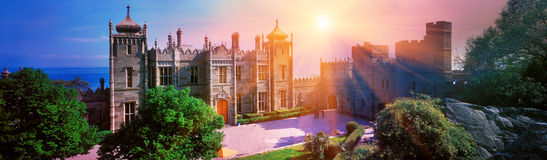 Дворец Воронцовский. Important architectural feature was the location of the palace respectively royalty free stock photography