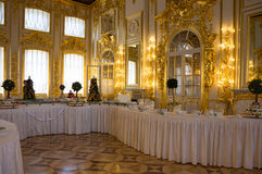 дворец интерьера Кэтрины Стоковые Фотографии RF