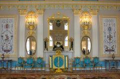 дворец интерьера Кэтрины Стоковые Изображения
