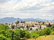 дворец Испания alhambra Стоковая Фотография