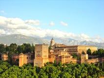 дворец Испания alhambra Стоковые Фото