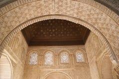 дворец Испания alhambra granada Стоковое Изображение RF