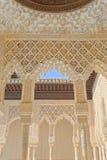 дворец Испания alhambra granada Стоковые Фото