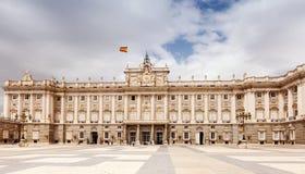 дворец королевский madrid Стоковое Фото