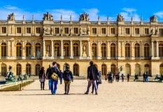 дворец королевский versailles Франции замока известный Стоковые Изображения RF