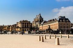 дворец королевский versailles Франции замока известный Стоковое Фото