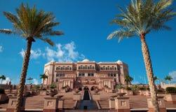дворец ночи эмиратов Abu Dhabi Стоковое Фото