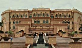 дворец ночи эмиратов Abu Dhabi Стоковое Изображение RF