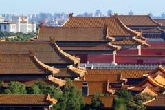 дворец Пекин запрещенный городом Стоковое фото RF
