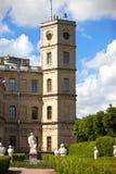 дворец Россия gatchina стоковые фотографии rf
