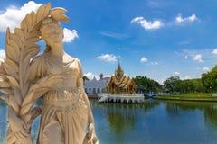 дворец Таиланд PA челки Стоковые Изображения