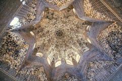 дворец alhambra granada Стоковые Изображения RF
