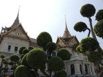 дворец bangkok грандиозный Стоковое Изображение