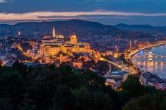 дворец budapest королевский Стоковая Фотография RF