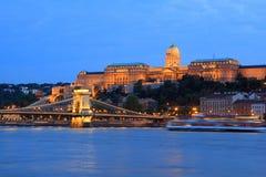 дворец budapest королевский Стоковая Фотография
