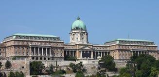 дворец budapest королевский стоковые фотографии rf