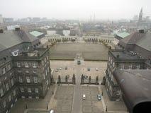 дворец copenhagen christiansborg стоковые фотографии rf