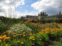 дворец fontainebleau Стоковая Фотография RF