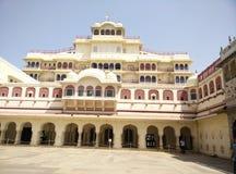 дворец jaipur города стоковые фото