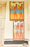 дворец knossos Крита Греции Стоковое Фото