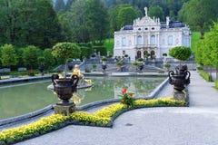 дворец linderhof 03 Германия Стоковое фото RF