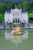 дворец linderhof 03 Германия Стоковая Фотография RF