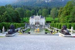 дворец linderhof 03 Германия Стоковое Изображение