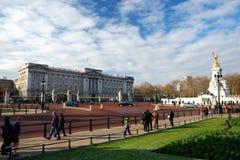дворец london buckingham Стоковая Фотография