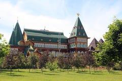дворец moscow kolomenskoe деревянный Стоковое Изображение