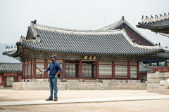 дворец seoul императора юг приятеля s seoul короля Кореи в июле 30 изменяя предохранителей Стоковое фото RF