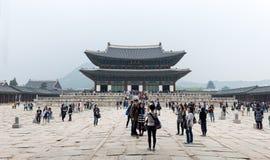 дворец seoul императора юг приятеля s seoul короля Кореи в июле 30 изменяя предохранителей Стоковые Фотографии RF