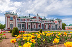 дворец tallinn kadriorg эстонии Стоковое Изображение RF