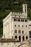 дворец umbria gubbio консулов Стоковые Фото