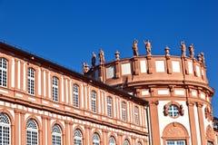 дворец wiesbaden biebrich Стоковое фото RF