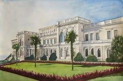 дворец yalta livadia Стоковое фото RF