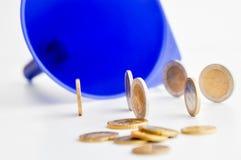 Воронка денег Стоковые Изображения