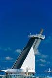 Воронка туристического судна стоковая фотография rf