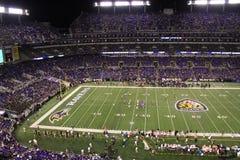 Вороны и Bengals NFL в Балтимор Стоковое Фото