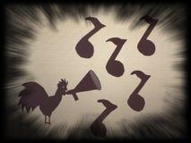 Вороны петуха Стоковое фото RF