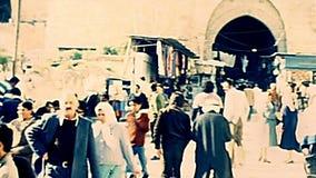 Ворота Иерусалима Дамаска акции видеоматериалы