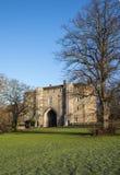 Ворот аббатства в Сент-Олбансе стоковые фотографии rf