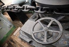 ворот анкерной цепи стоковая фотография