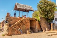 Ворот в Ambohimanga стоковая фотография rf