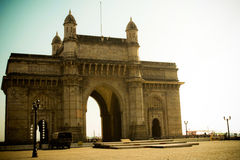 Ворот к Индии, Мумбаю, Индии Стоковое Изображение RF