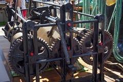 Ворот металла ` s корабля стоковое фото rf