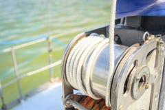 Ворот на яхте стоковое изображение rf